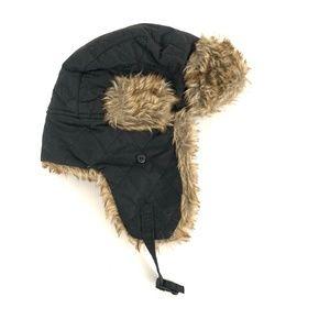 Igloo Black Bomber Trapper Hat